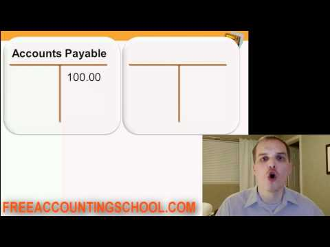 Accounting Basics Lesson 5: Revenue Accounts, Expense Accounts, When to Make a Debit or Credit