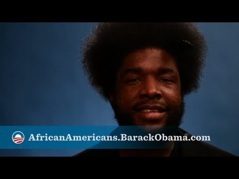 Questlove of The Roots is in for 2012