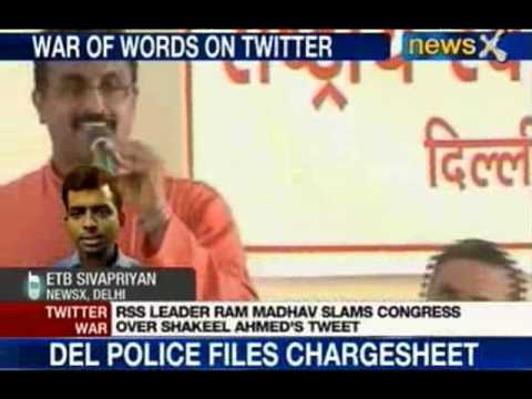 NewsX: Never justified terror, justifies Shakeel Ahmed