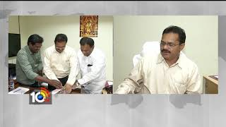 TS Tourism Secretary Burra Venkatesham Launched 10TV 2018 Calendar | Hyderabad