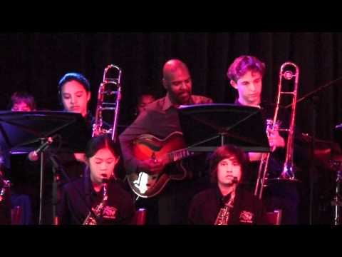 Doxie - BAK Middle School of the Arts Jazz Band I at BB Kings 2012