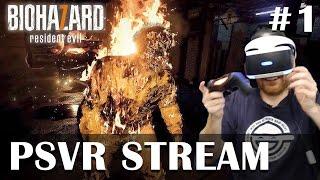Resident Evil 7 PSVR gameplay - Full PSVR Playthrough, live!