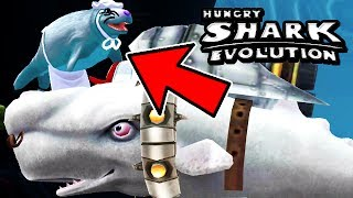 NEW SEAL MUM VOLCANO BOSS (HUNGRY SHARK EVOLUTION)
