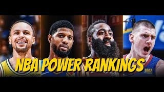 NBA Power Rankings - Western Conference predictions
