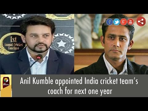 Anil Kumble all set to become Indian Cricket team's head coach