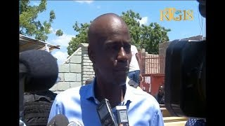 VIDEO: Haiti - President Jovenel Vizite Magistra Wilson Jeudy nan Delmas