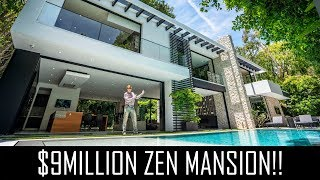 $9MILLION ZEN HOLLYWOOD MANSION