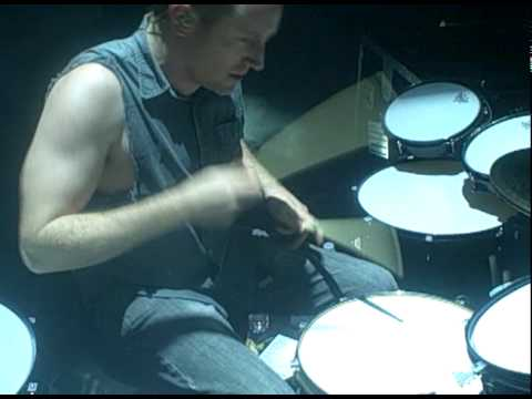 Josh Freese drumming