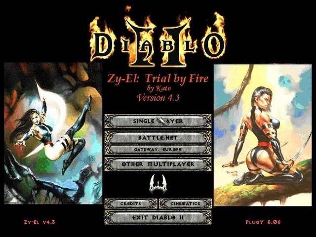 Часть 1. Обзор мода Netherworld Rises. Часть 2. Diablo 2, Zy-El: Trial by