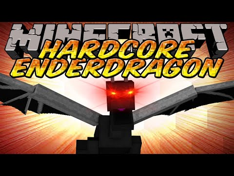 Minecraft Hardcore Ender Dragon Mod 1.2.5