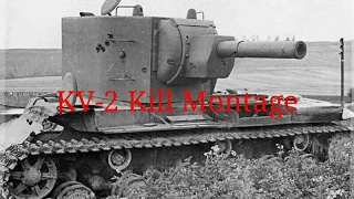 War Thunder - The King of Derp! - KV-2 Kill Montage