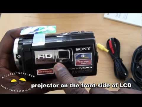 Sony Handycam with Projector HDR-PJ260V Unboxing & First Impressions