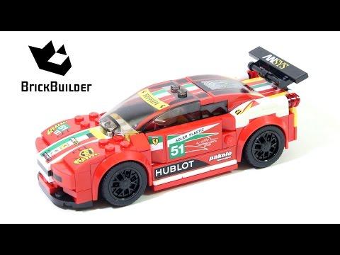 Lego Speed Champions 75908 458 Italia GT2 - Lego Speed build