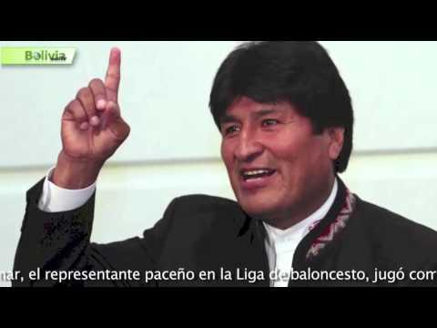 """Evo Morales En New York """"Invirtiendo En La Nueva Bolivia"""""""