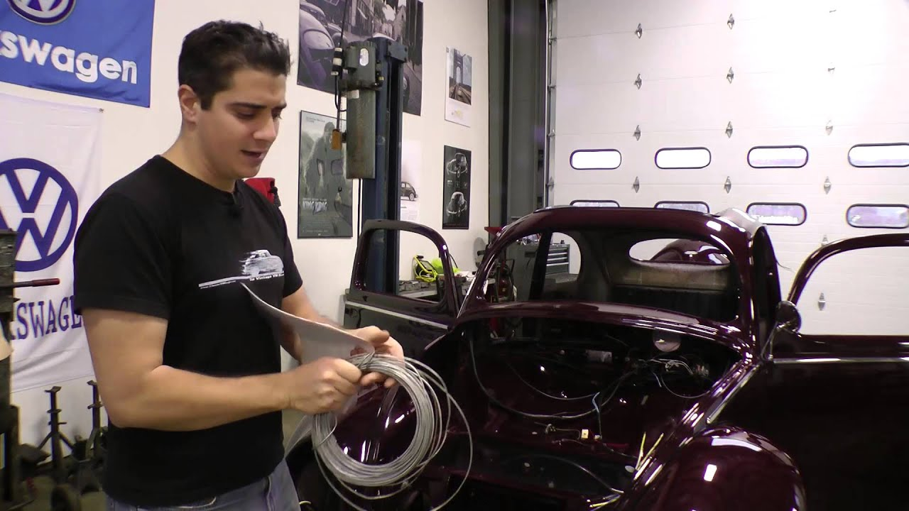 classic vw bugs how to wiring setup tip on vintage beetle Install Wiring Harness On a 72 VW Bug