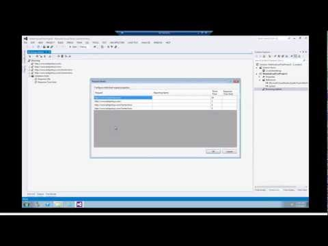 Introduction to Web Performance and Load Testing with VS2012 Ultimate