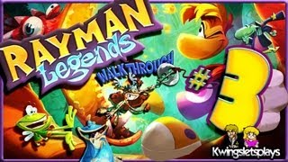 Rayman Legends Walkthrough - Walkthrough Part 3 Ray and the Beanstalk