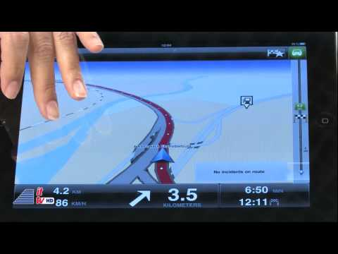 IFA 2011: TomTom App for iPhone optimized for iPad
