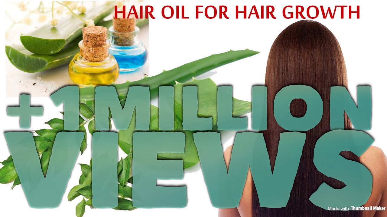 Natural Hair Oil Recipe for Hair growth,Damaged hair and