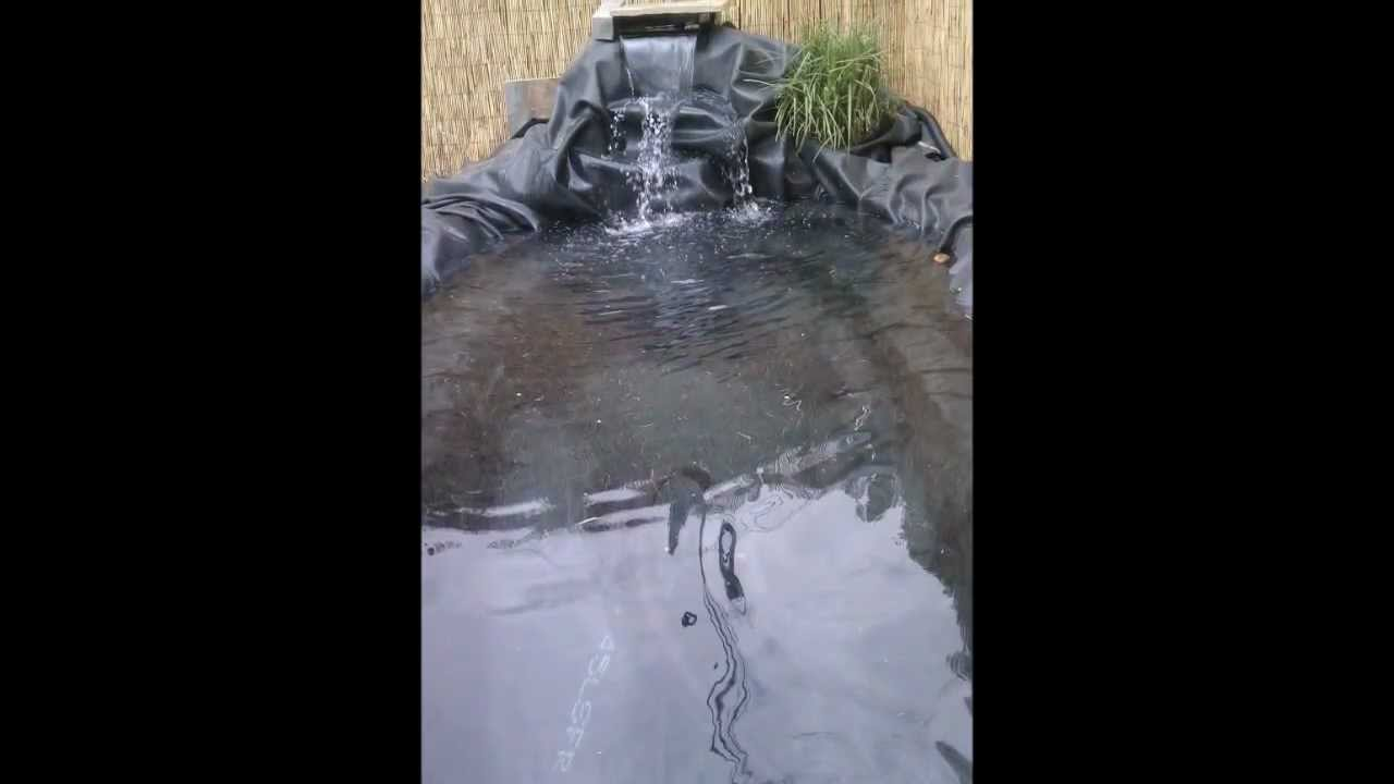 for How to build a koi pond step by step