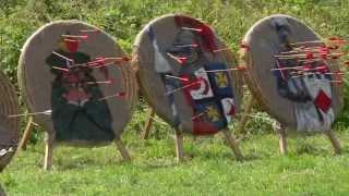 Как сделать щит для стрельбы из лука своими руками 1
