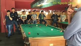 Bida 9 bi độ : Tùng già vs Thu lùn - chấp 8 tại Moscow | 600$/ván - Part 2