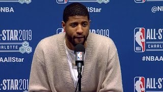 Paul George Postgame Interview - Team LeBron vs Team Giannis | 2019 NBA All-Star Game