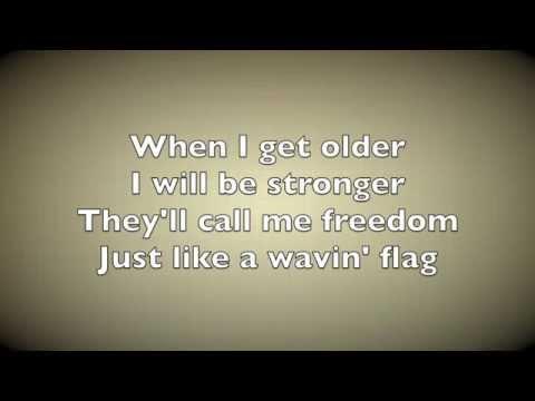 Wavin' Flag Official Anthem Lyrics