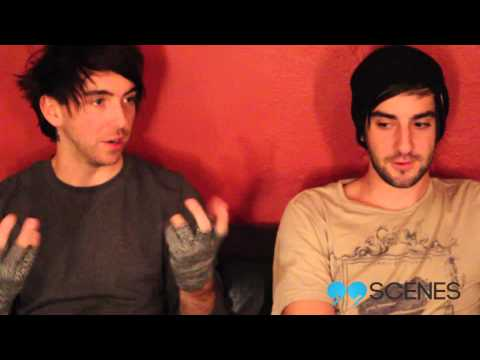 All Time Low interview 2013 with Alex Gaskarth and Jack Barakat // 99SCENES.COM