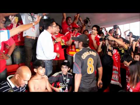 What happens if you wear a Man United Jersey during Liverpool's Asian Tour