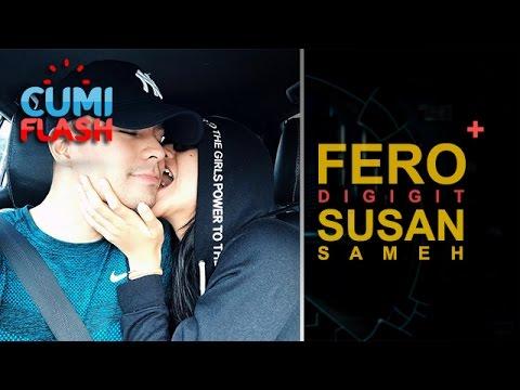 Awww... Pipi Fero Walandouw Digigit Susan Sameh - CumiFlash 22 Mei 2017