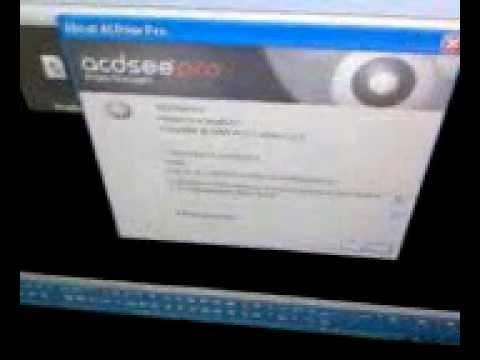 Ошибка в программе Acdsee Pro 8