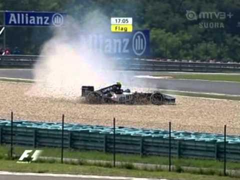 Hungaroring 2005 F1 FP1 Nissany