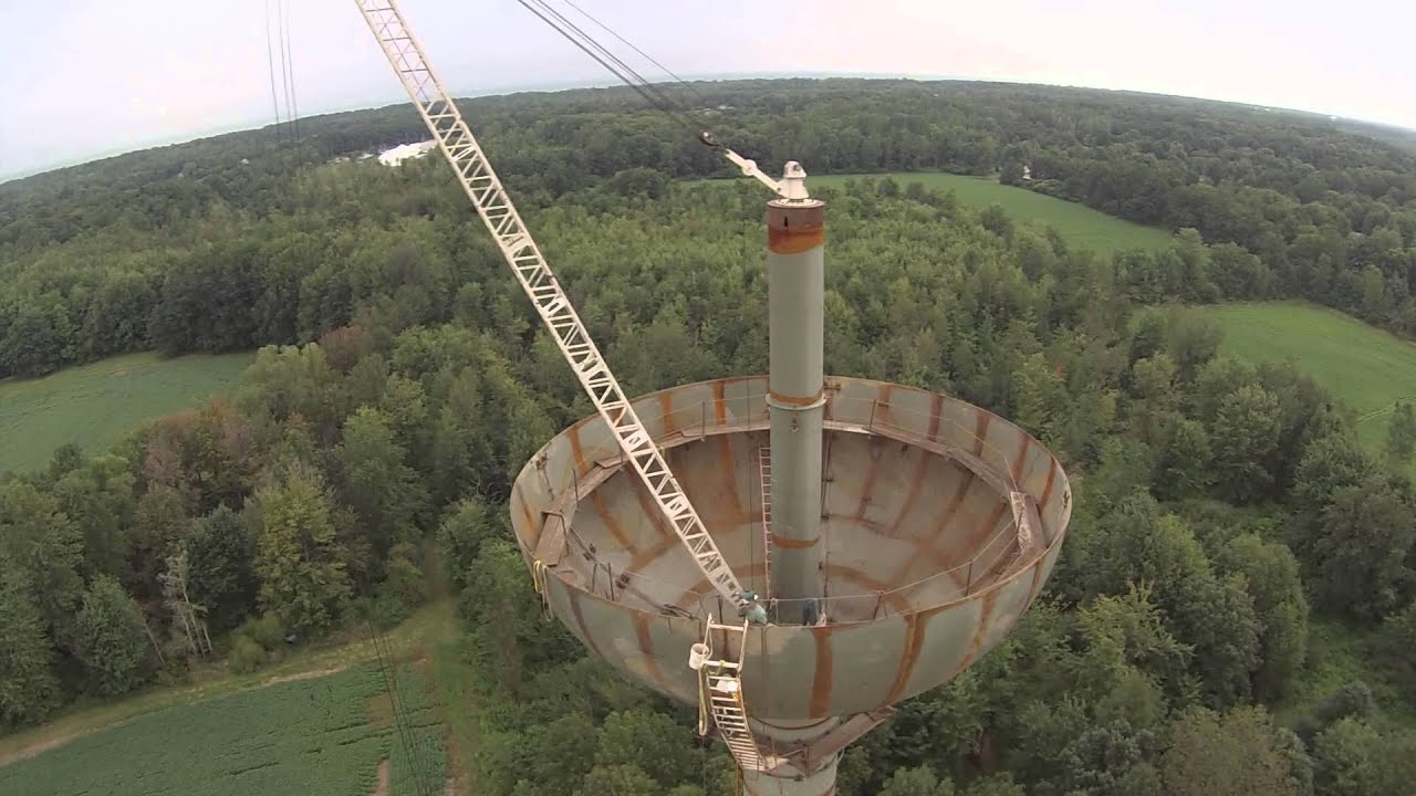 dji phantom fpv with gopro h3 viewing water tower being built youtube. Black Bedroom Furniture Sets. Home Design Ideas