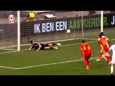 Netherlands - Romania WC 2014 qualifyer