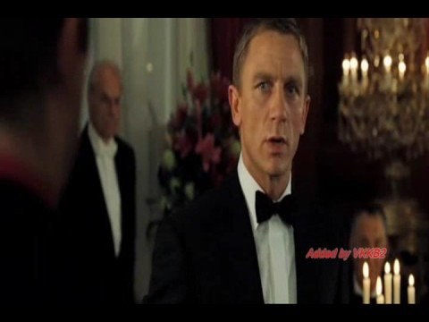 Casino Royale: Vodka Martini; Do I look like I give a damn?