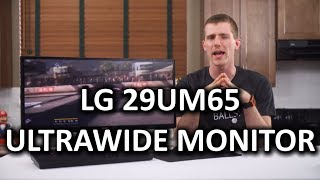 "LG 29UM65 29"" 21:9 UltraWide IPS LCD Monitor"