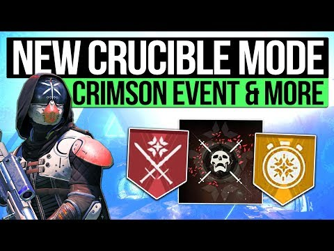 Destiny 2 News | NEW SUDDEN DEATH MODE! - Crimson Days Quest, New Crucible Medals & Bungie Feedback!
