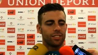 Rodri (UD Almería) antes de visitar al Atlético de Madrid (Liga BBVA)