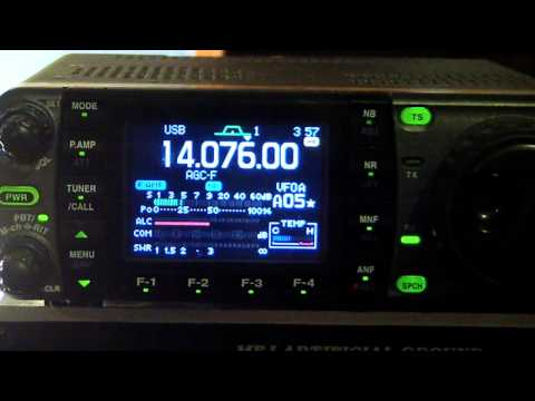 Quick View: NW7US Amateur Radio JT65A Weak-Signal Digital Radio