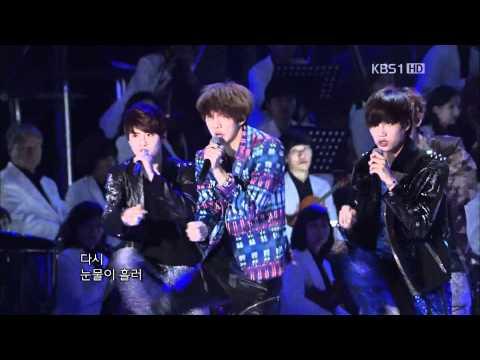 120520 Kbs Open Concert Exo-k Mama video