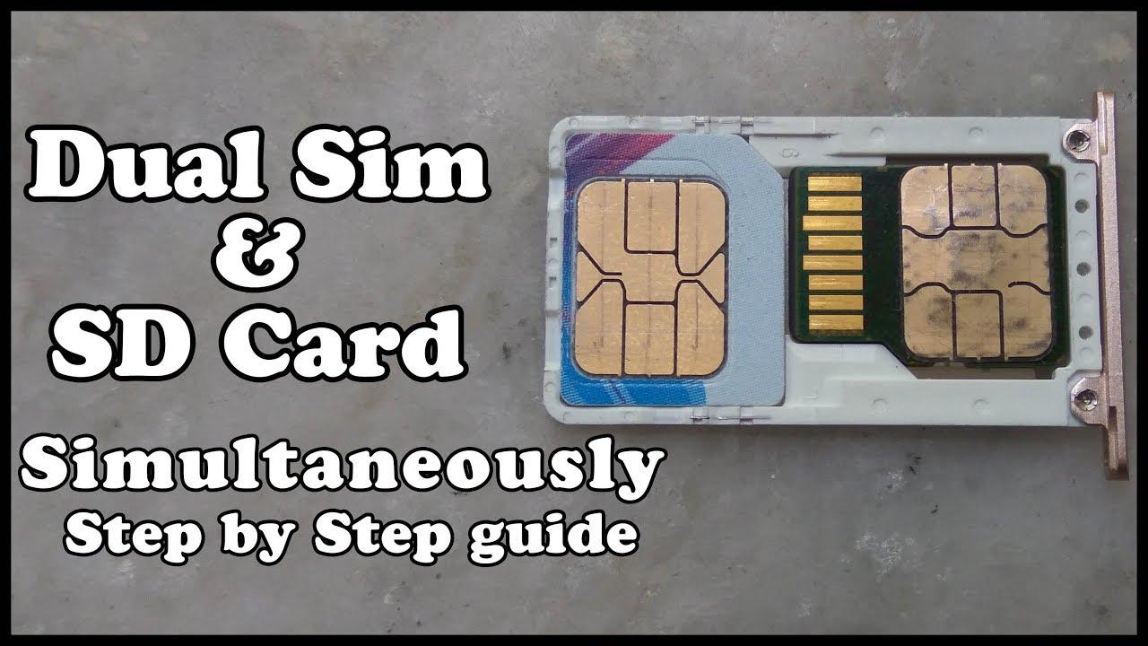 Как сделать sdcard