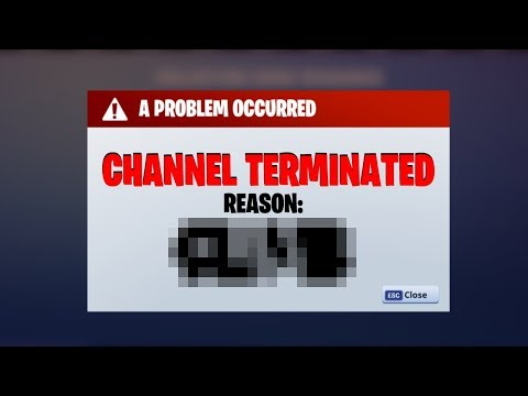 We Are Deleting The Channel.. (Fortnite)