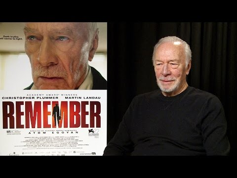 Actor Christopher Plummer Opens Up About 'Remember'