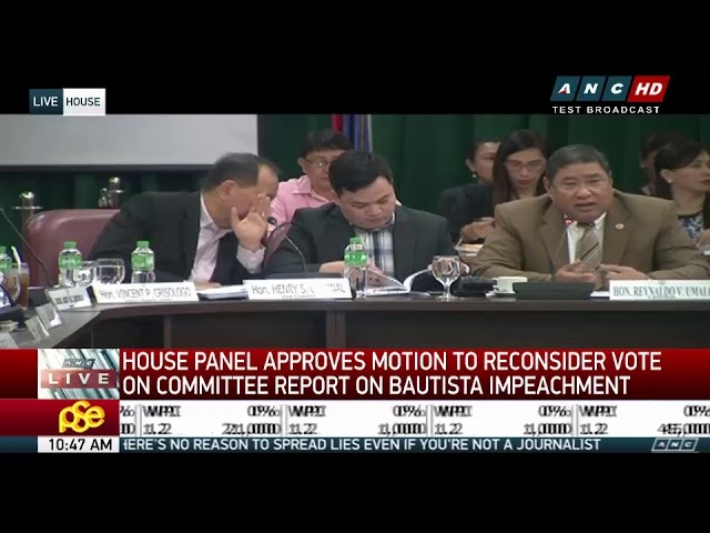 Impeach complaint vs Comelec chief officially junked