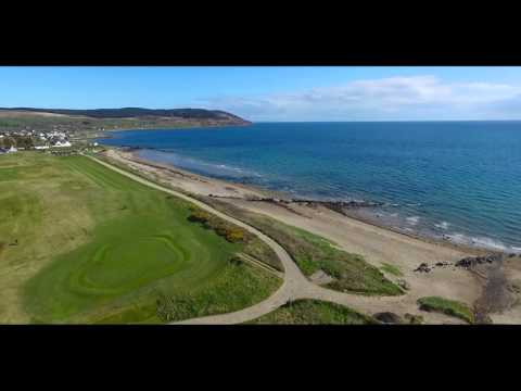 Isle of Arran from Above, Drone Footage in Scotland, United Kingdom