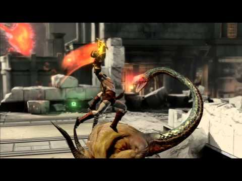 God of War 3 : Kratos versus Helios