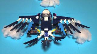 LEGO CHIMA Stop Motion -SKY BATTLE-