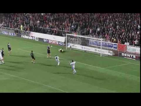 Dundee United beat Dundee 3-1 at Tannadice Park on 10th November 2009 in a match to mark the official opening of the new Tannadice floodlights. Goals from Andis Shala, Danny Cadamarteri and...