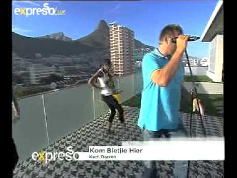 Kurt Darren 'kom Bietjie Hier' On Expresso (14.03.2012) video